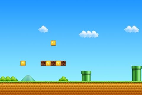 El escenario de Mario Bros - 480x320