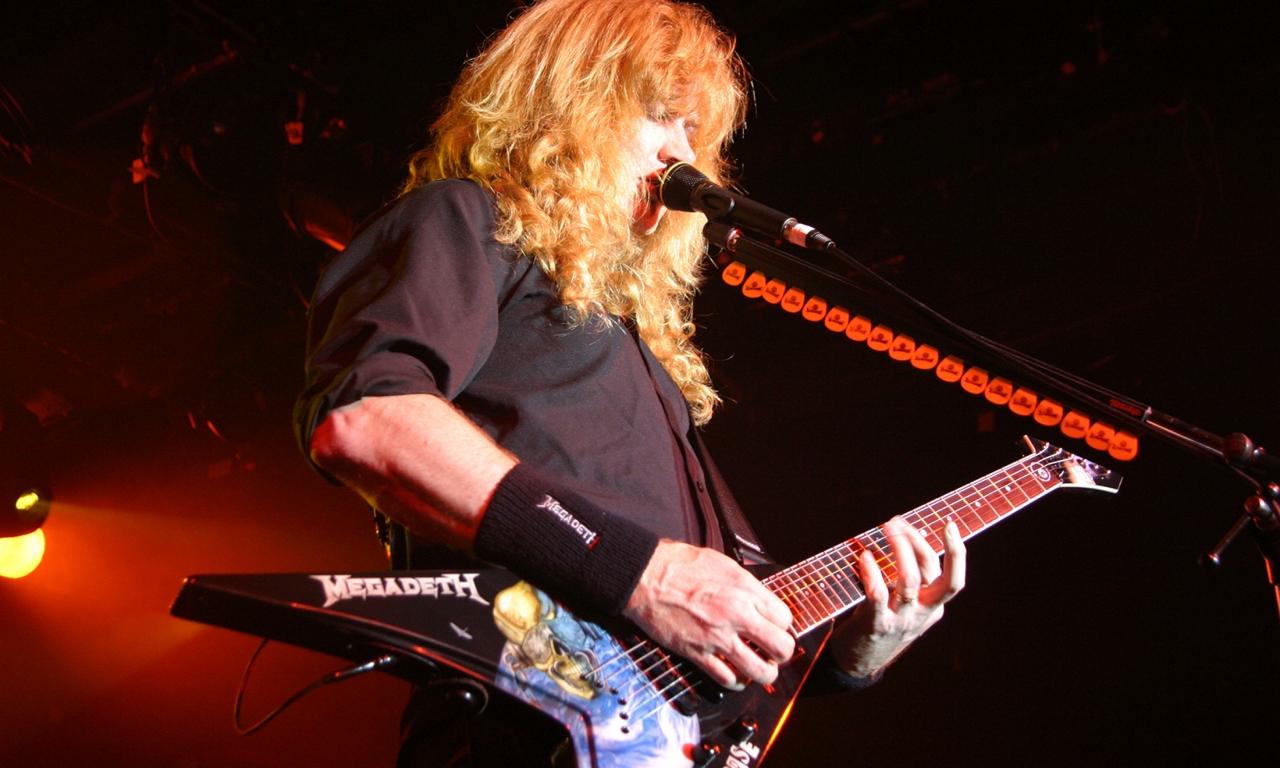 El guitarrista de Megadeth - 1280x768