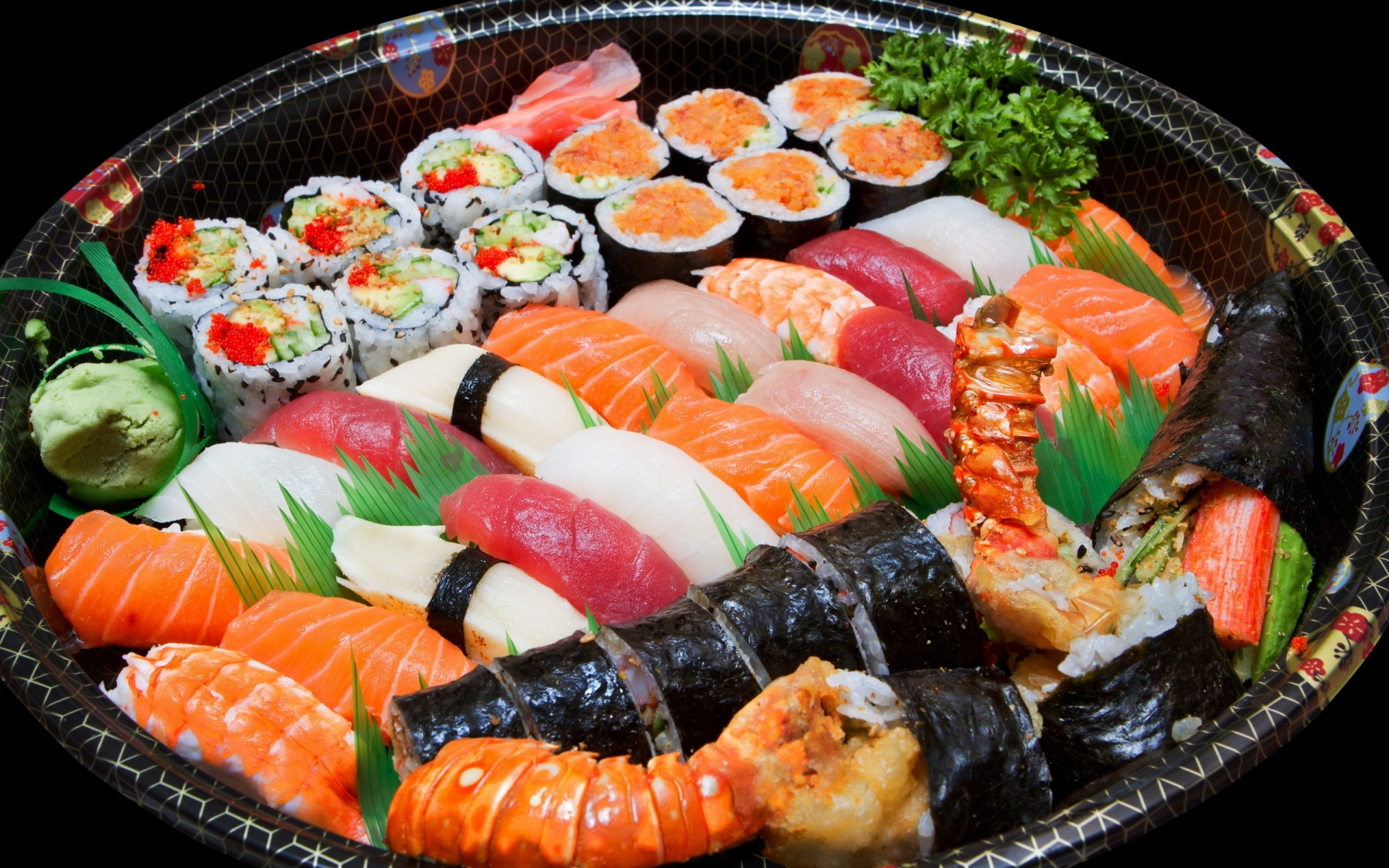 El Plato Sushi hd 1920x1200 imagenes wallpapers gratis
