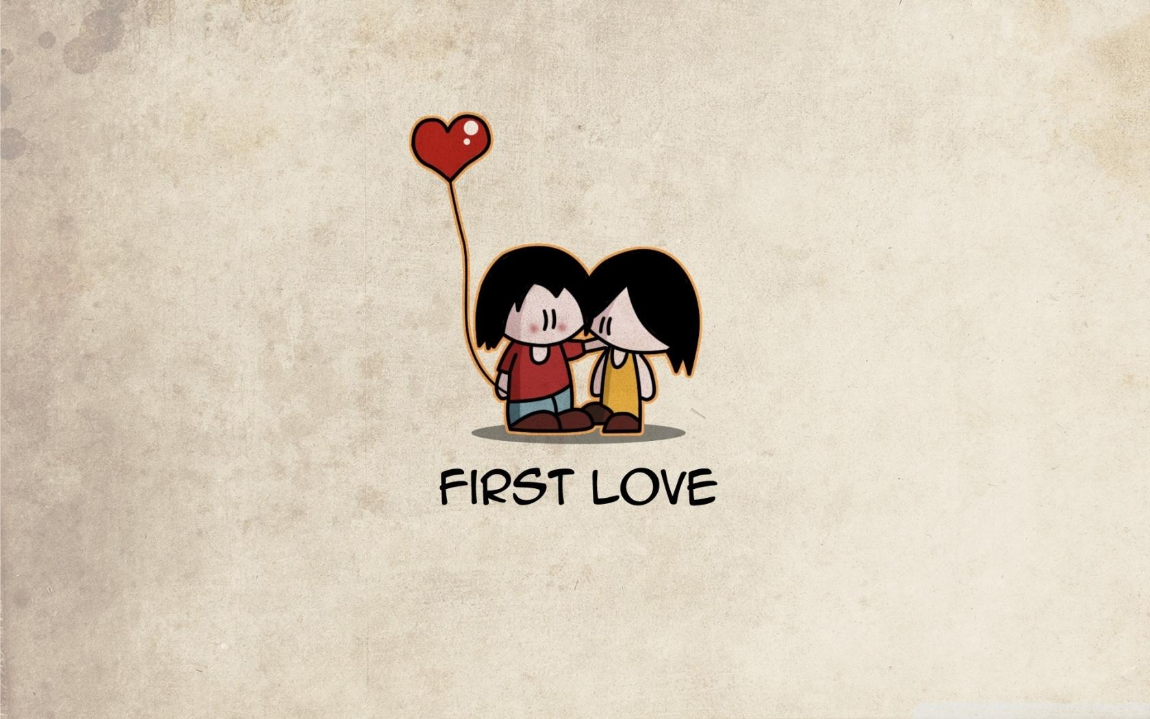 El primer amor - 1680x1050
