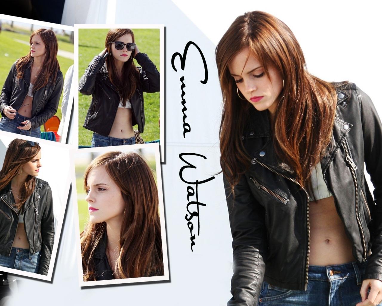Emma Watson collage - 1280x1024