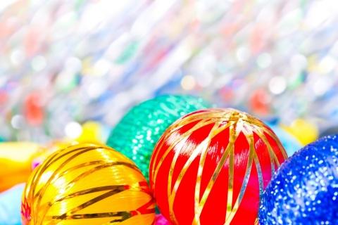 Esferas por navidad - 480x320