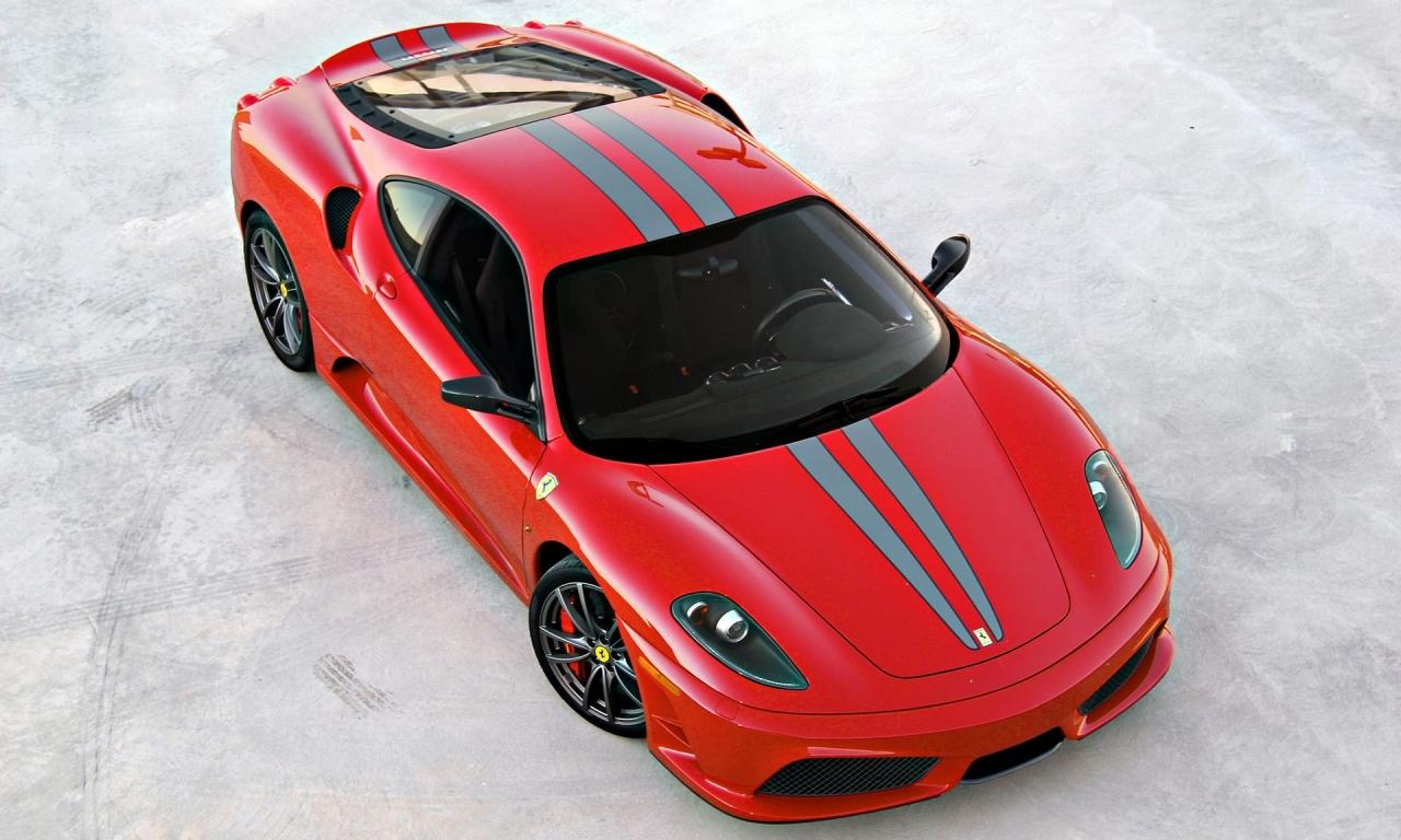 Ferrari Rojo - 1280x768