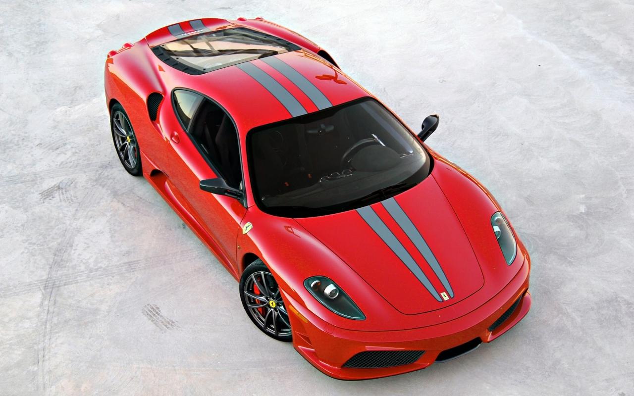 Ferrari Rojo - 1280x800