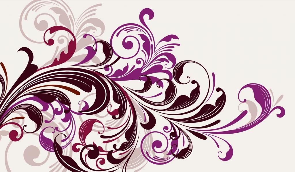 Flores abstractas - 1024x600