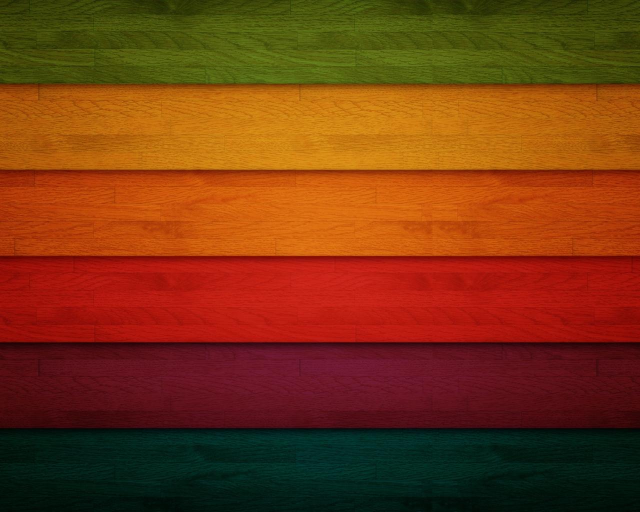 Franjas de colors - 1280x1024