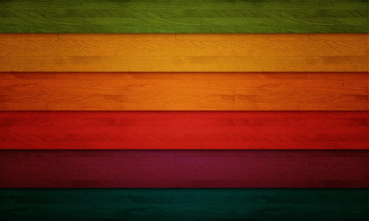 Franjas de colors - 1280x768