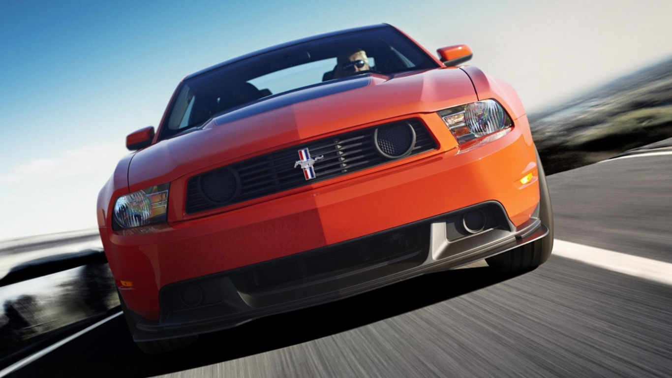 Ford Mustang Boss 302 - 1366x768