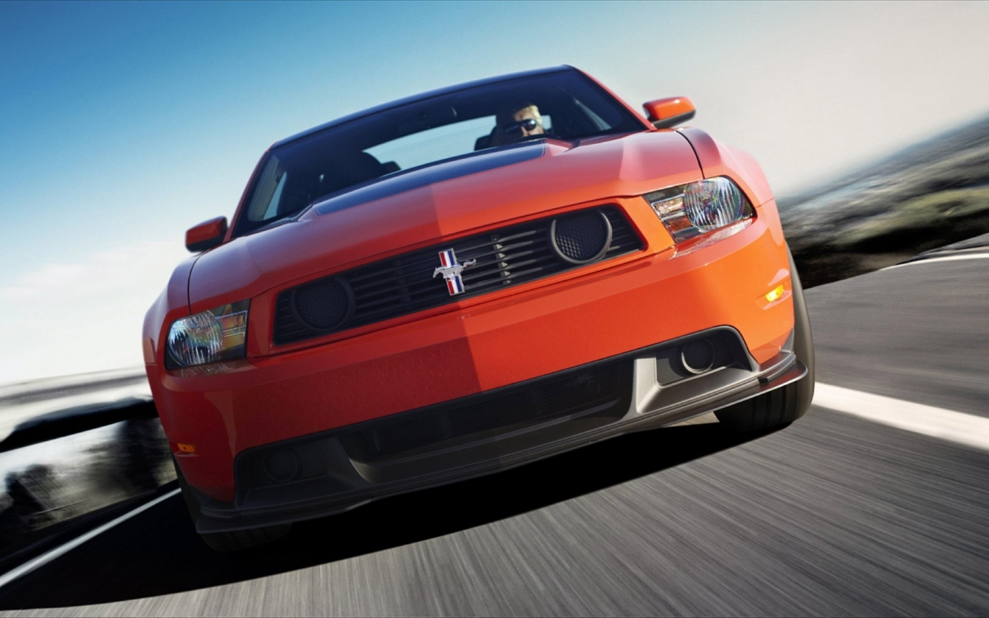Ford Mustang Boss 302 - 1440x900