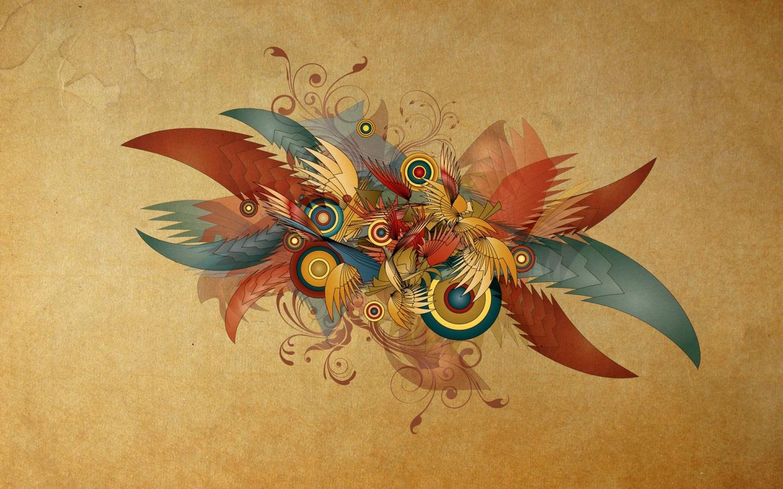 Formas abstractas - 1440x900