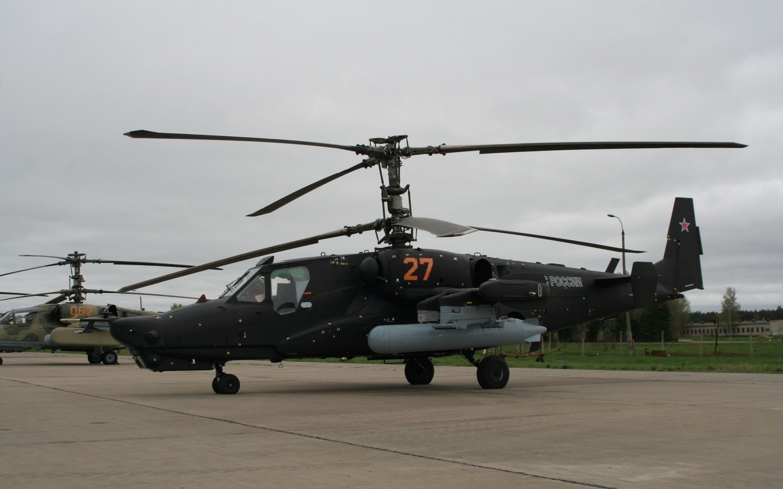 Helicóptero Black Shark - 1440x900