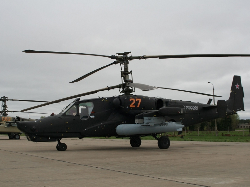Helicóptero Black Shark - 800x600