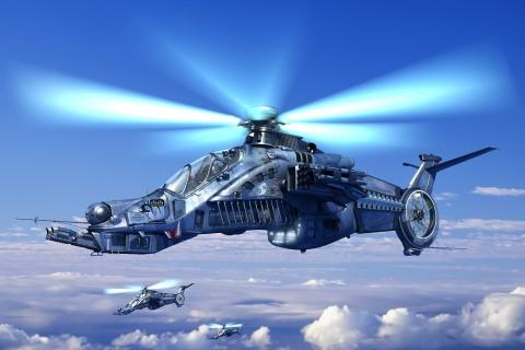 Helicóptero de videojuegos - 480x320