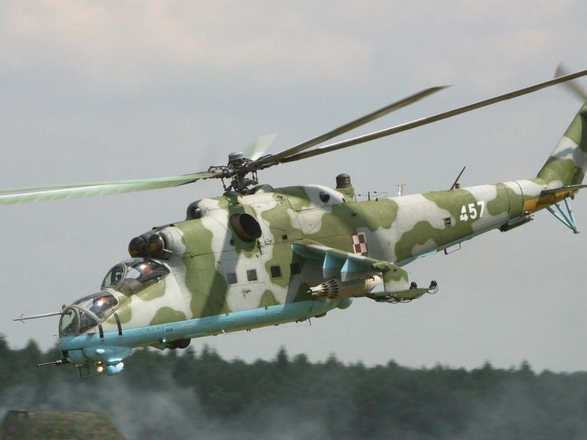 Helicóptero Mi 24 - 1152x864