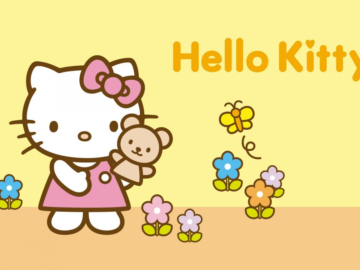 Hello Kitty amarillo - 1152x864