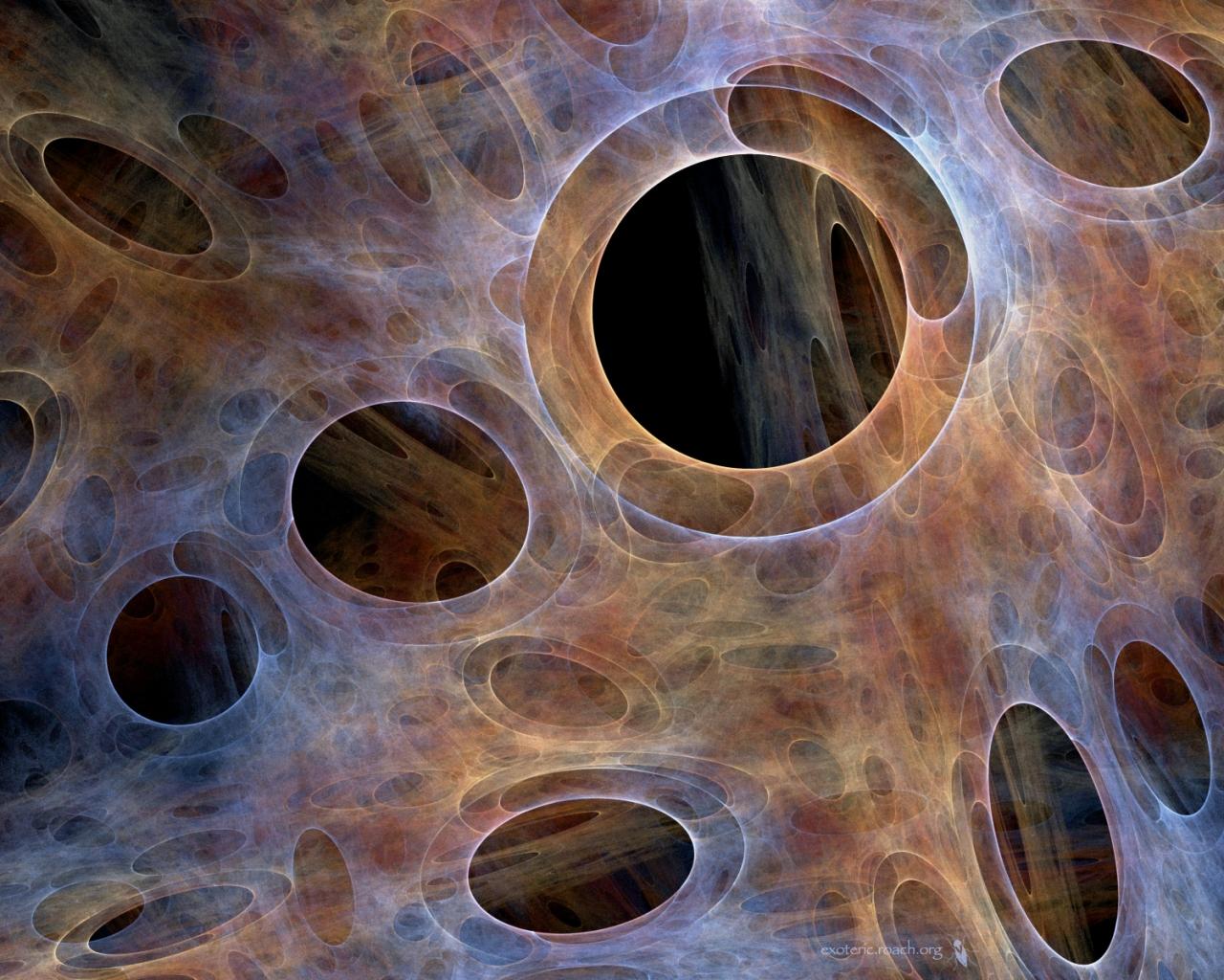 Huecos abstractos - 1280x1024