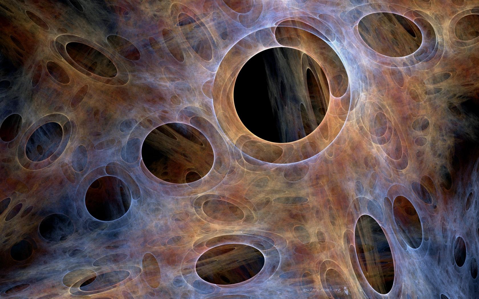 Huecos abstractos - 1680x1050