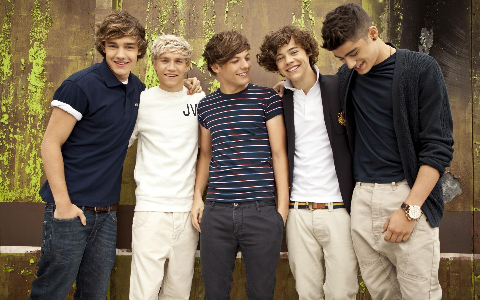 Integrantes de One Direction - 1920x1200