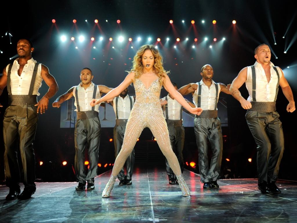 Jennifer Lopez en concierto - 1024x768