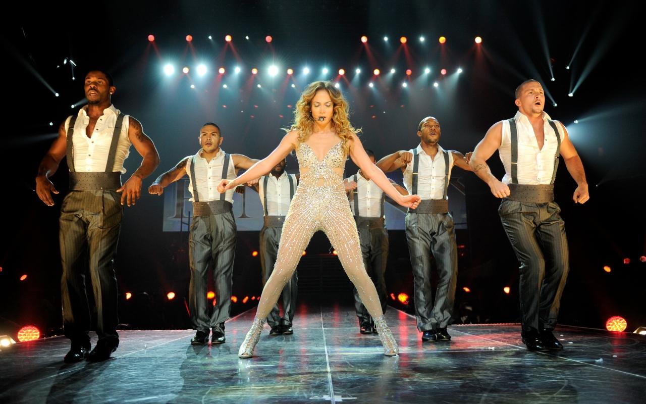 Jennifer Lopez en concierto - 1280x800