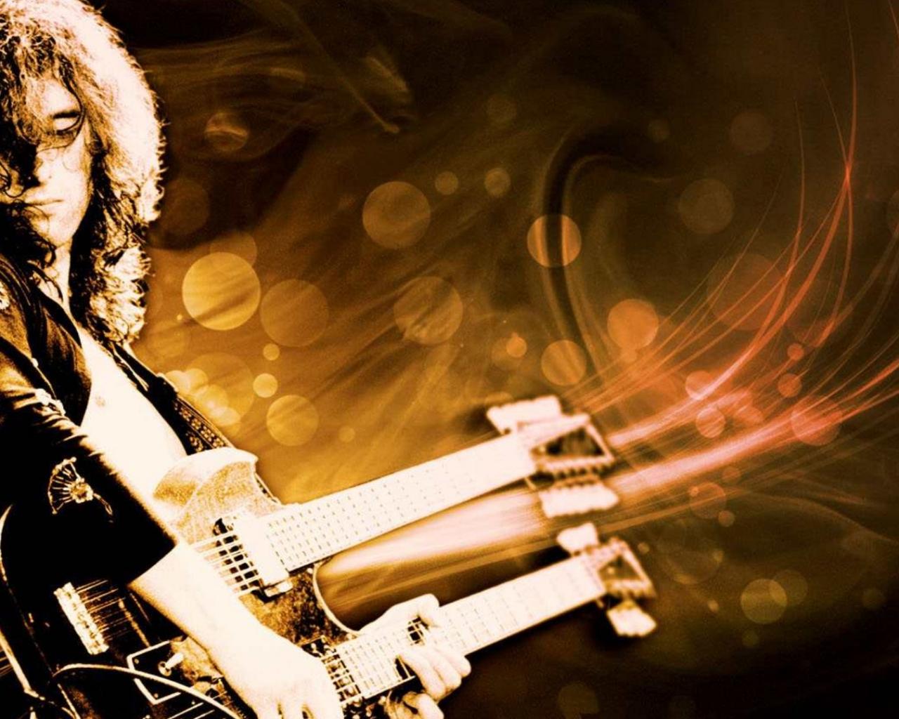 Jimmy Page - 1280x1024