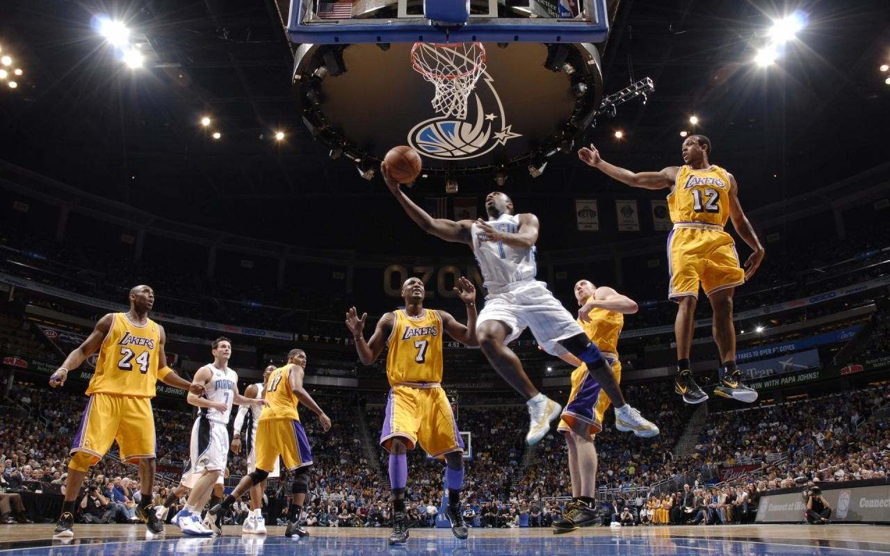Jugada de NBA - 1280x800
