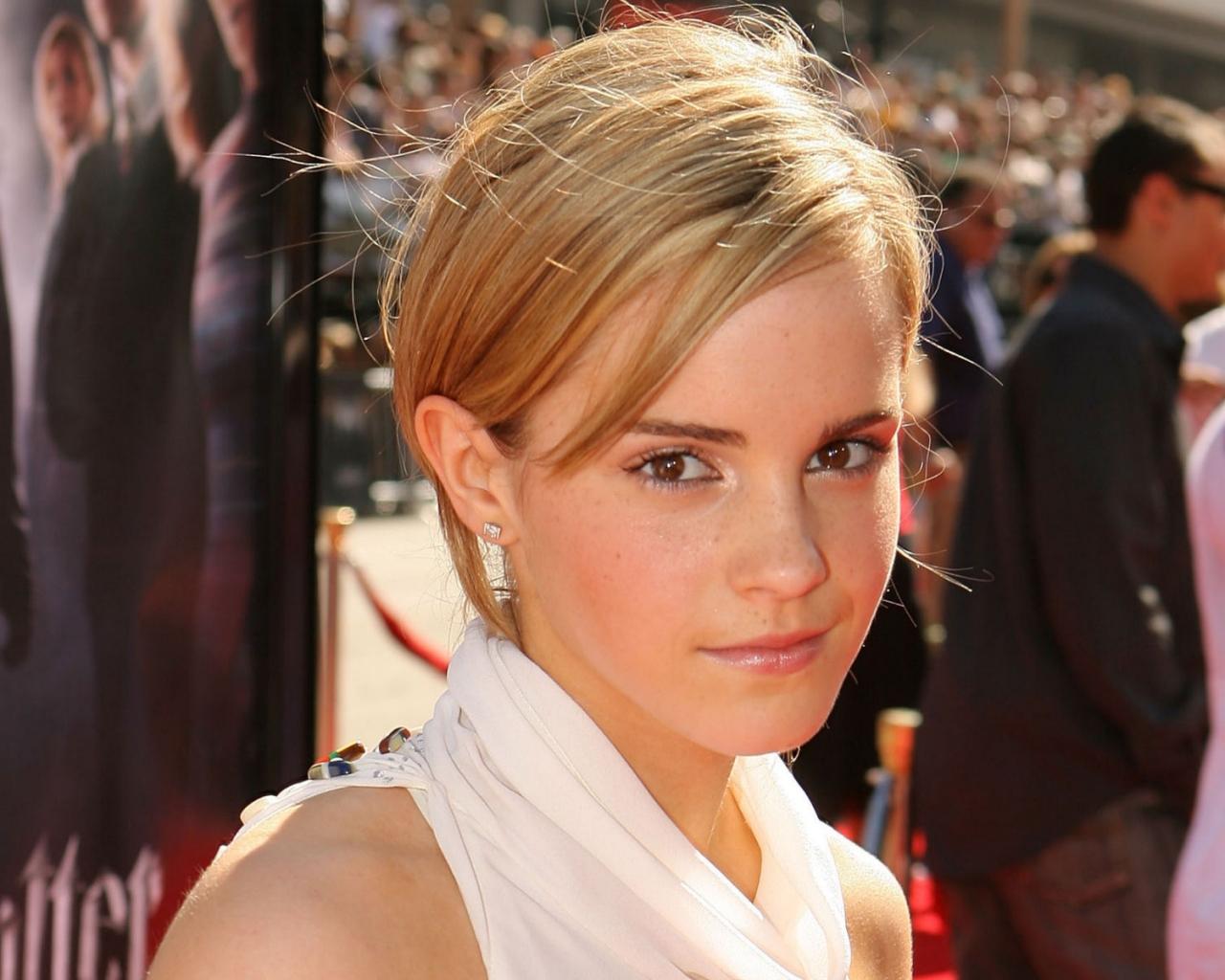 La rubia de Emma Watson - 1280x1024