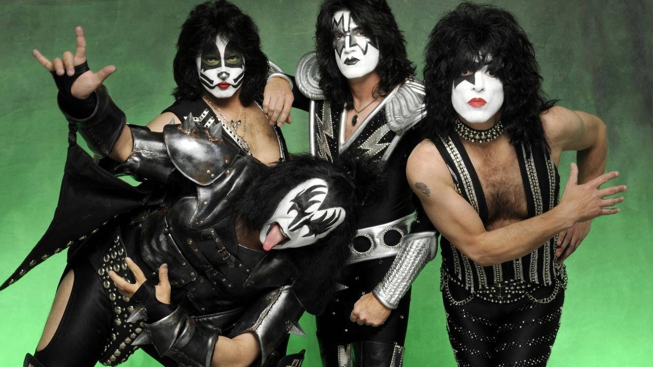 Las caras pintadas de Kiss - 1280x720