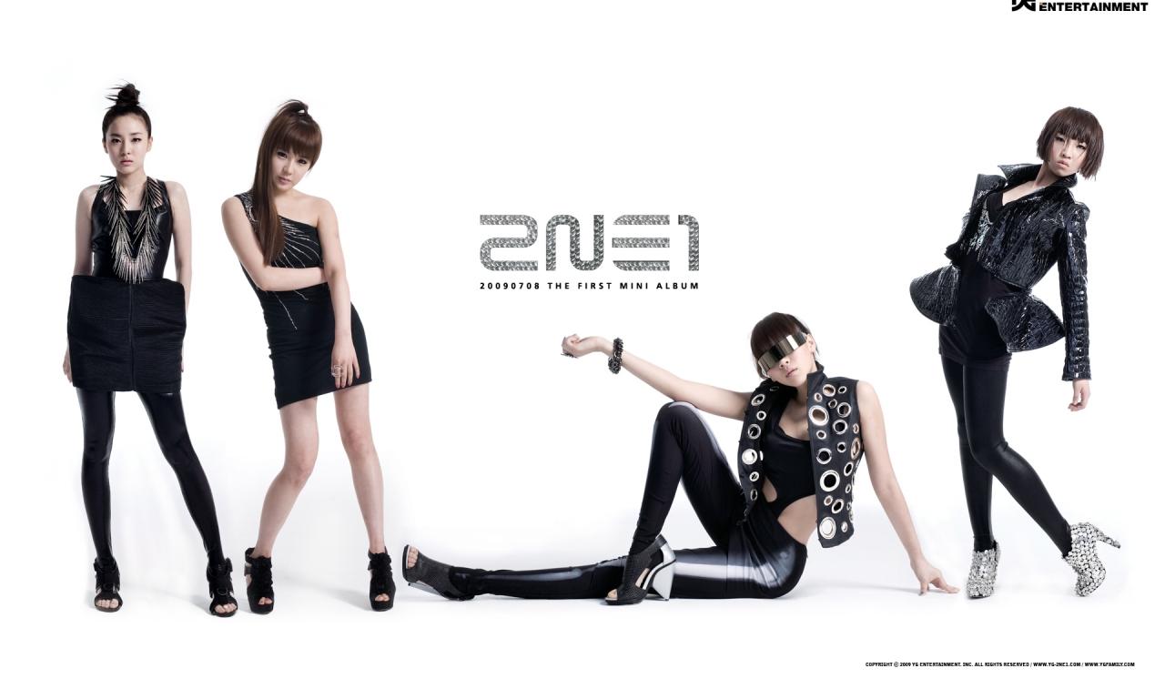 Las chicas 2NE1 - 1280x768