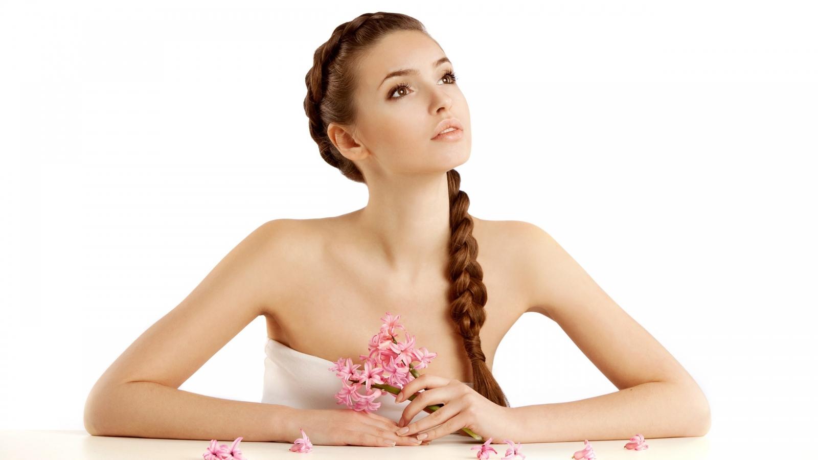 Lindo peinado para novia - 1600x900