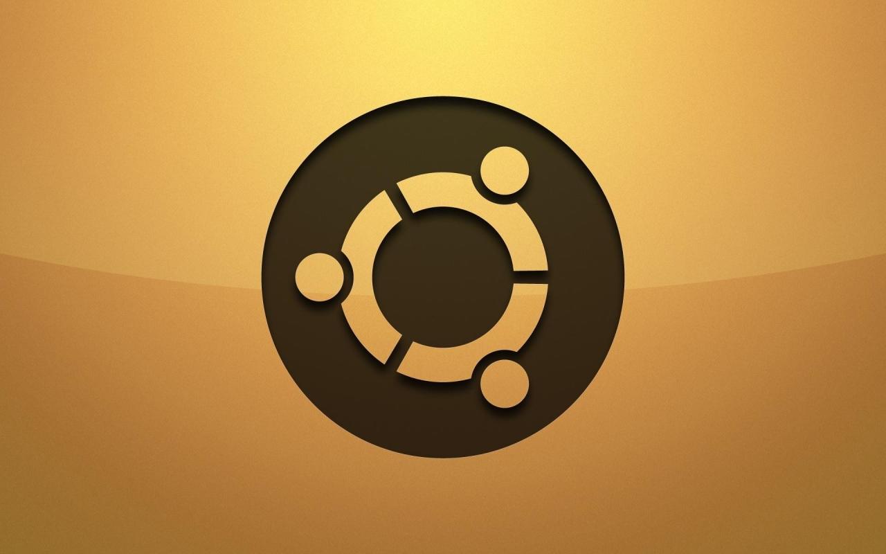 Logo de Ubuntu - 1280x800