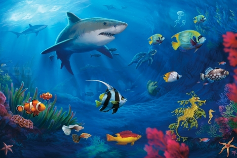 Los animales marinos - 480x320