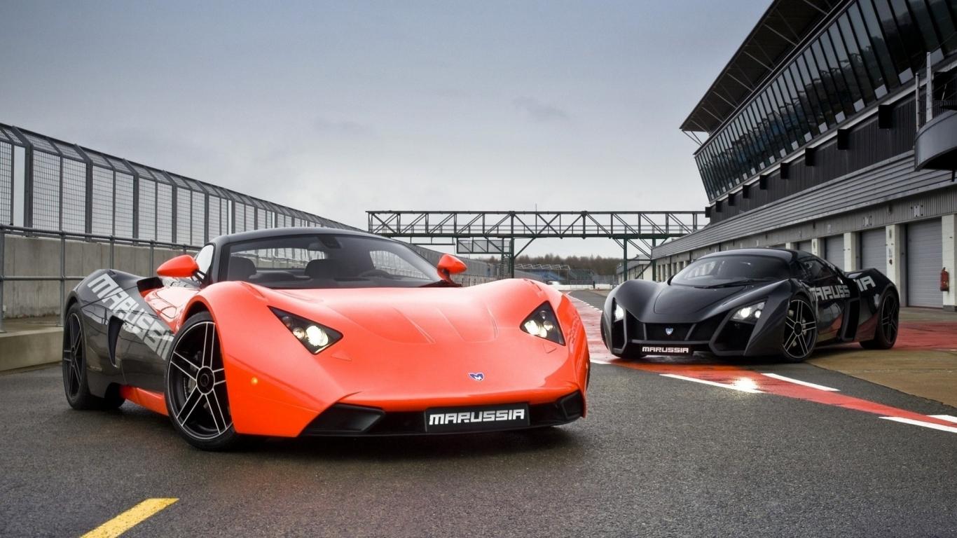Los super autos - 1366x768