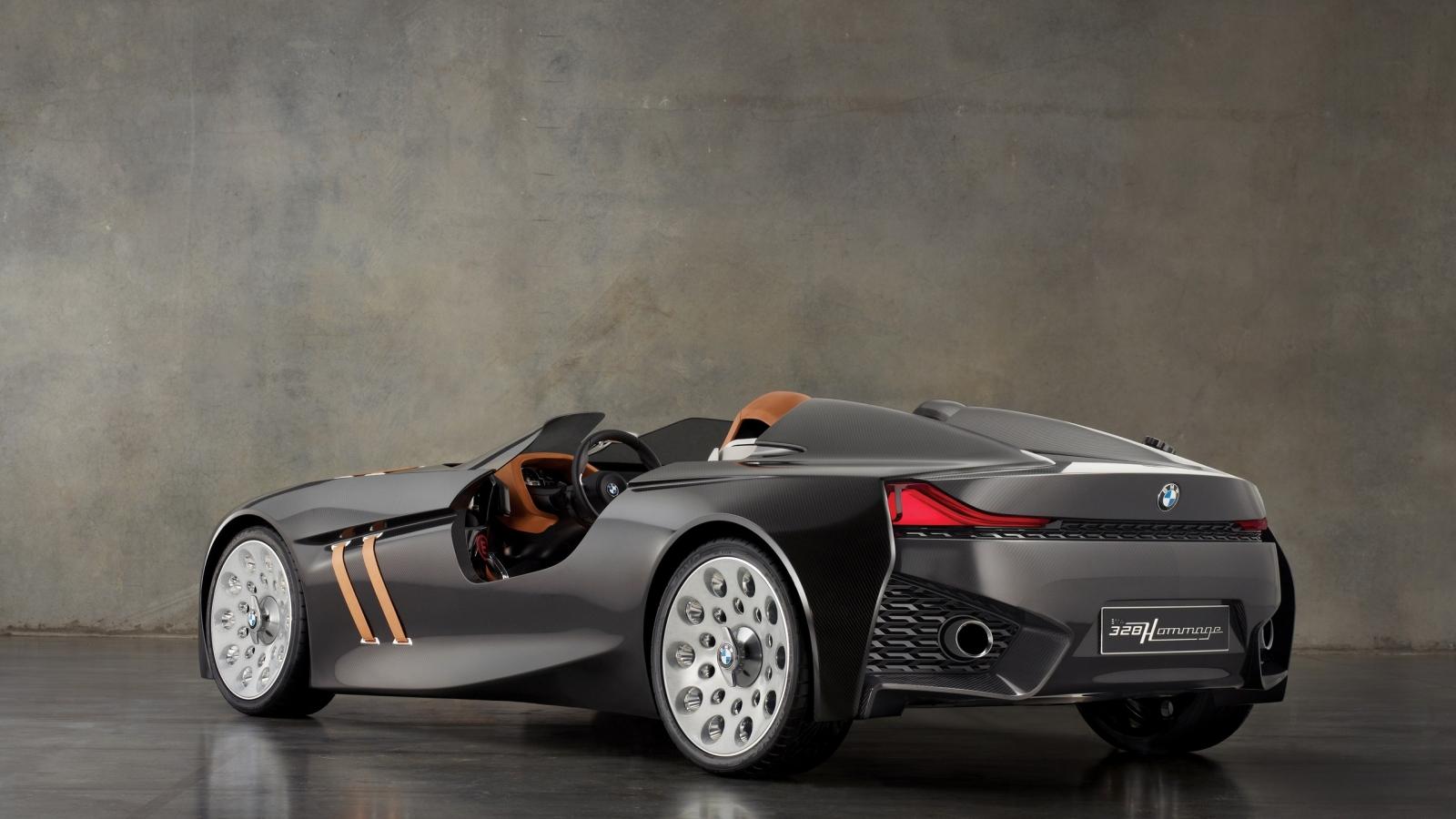 Lujoso auto BMW - 1600x900