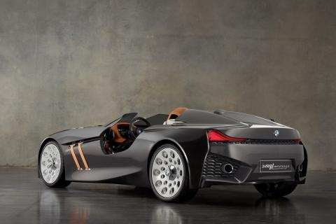Lujoso auto BMW - 480x320