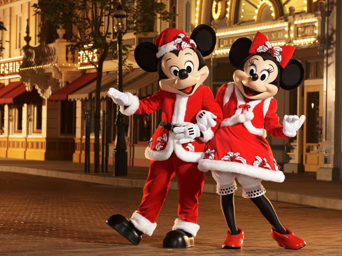 Micky y Mini Mouse - 1152x864