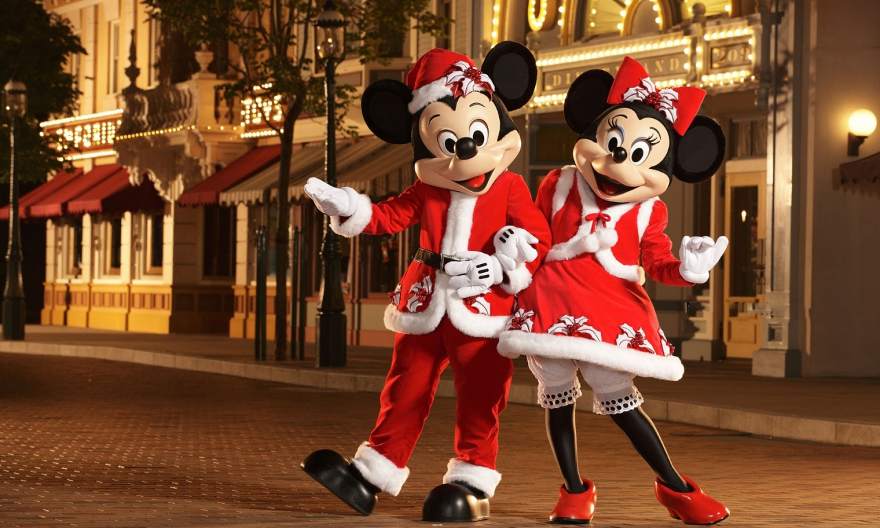 Micky y Mini Mouse - 1280x768