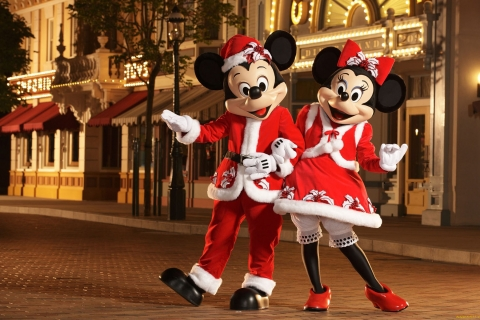 Micky y Mini Mouse - 480x320