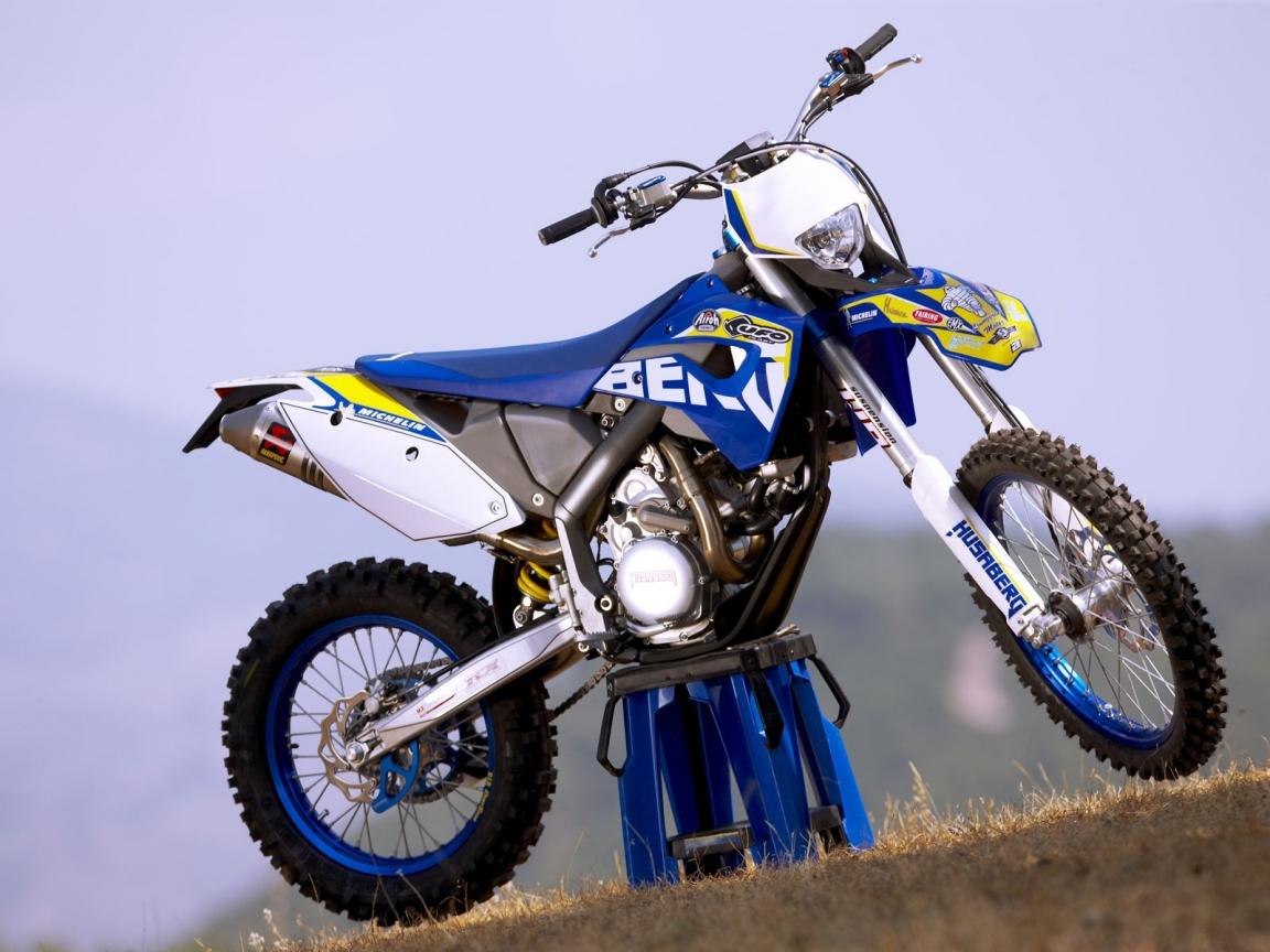 Motocross Azul - 1152x864
