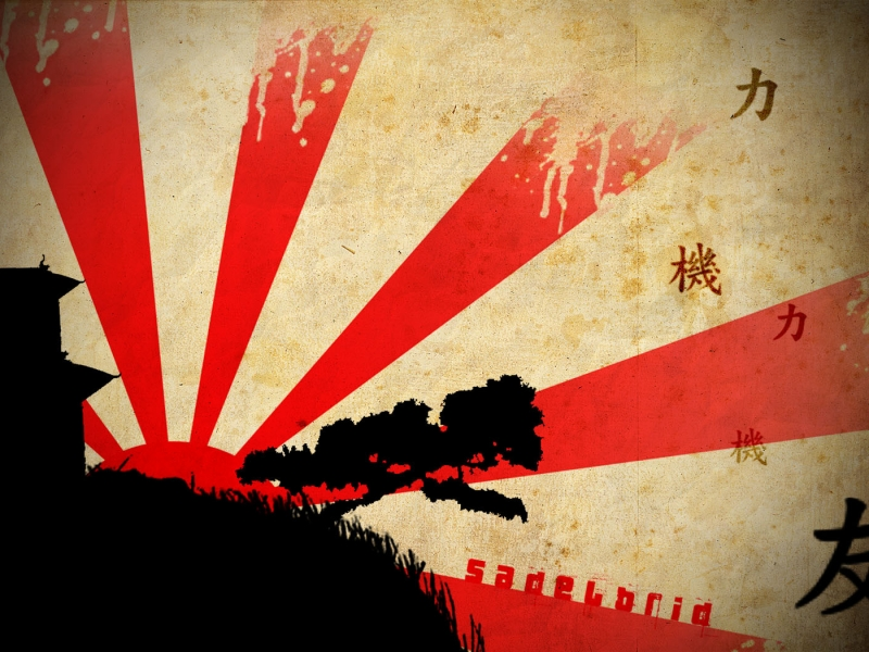 Mundo chino abstracto - 800x600