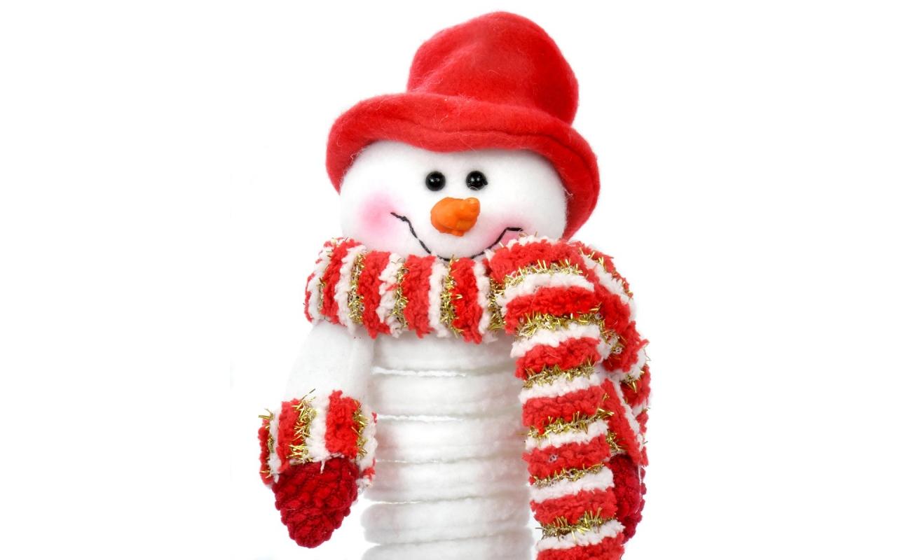 Muñeco de nieve - 1280x800