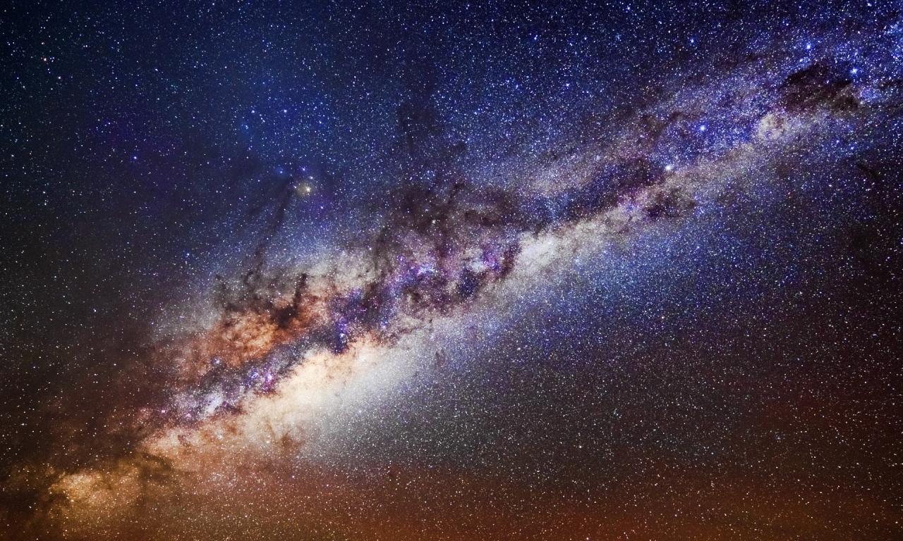 Nebulosas y el espacio - 1280x768