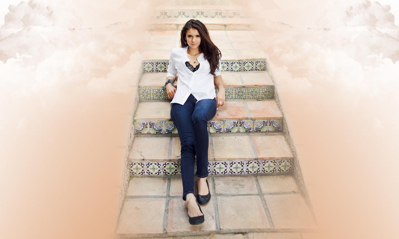 Nina Dobrev fashion - 1280x768