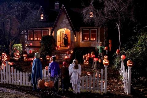 Niños en halloween - 480x320