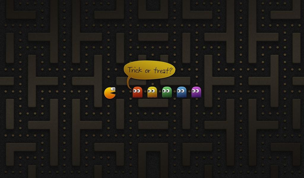 Pacman juego - 1024x600