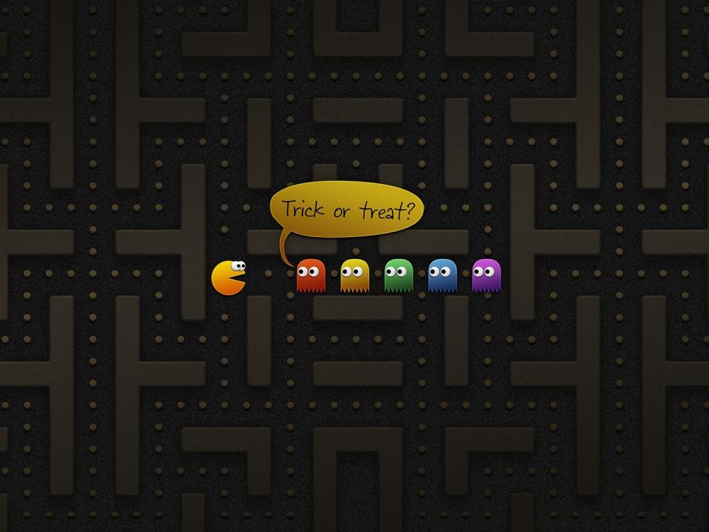 Pacman juego - 1024x768