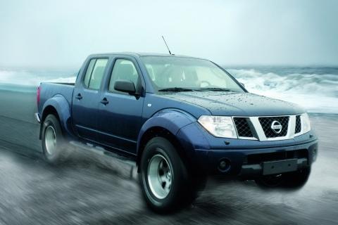 Pickup Nissan azul - 480x320