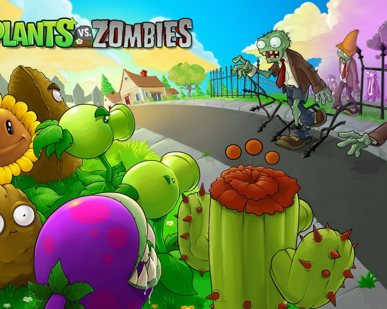Plants vs. Zombies - 1280x1024