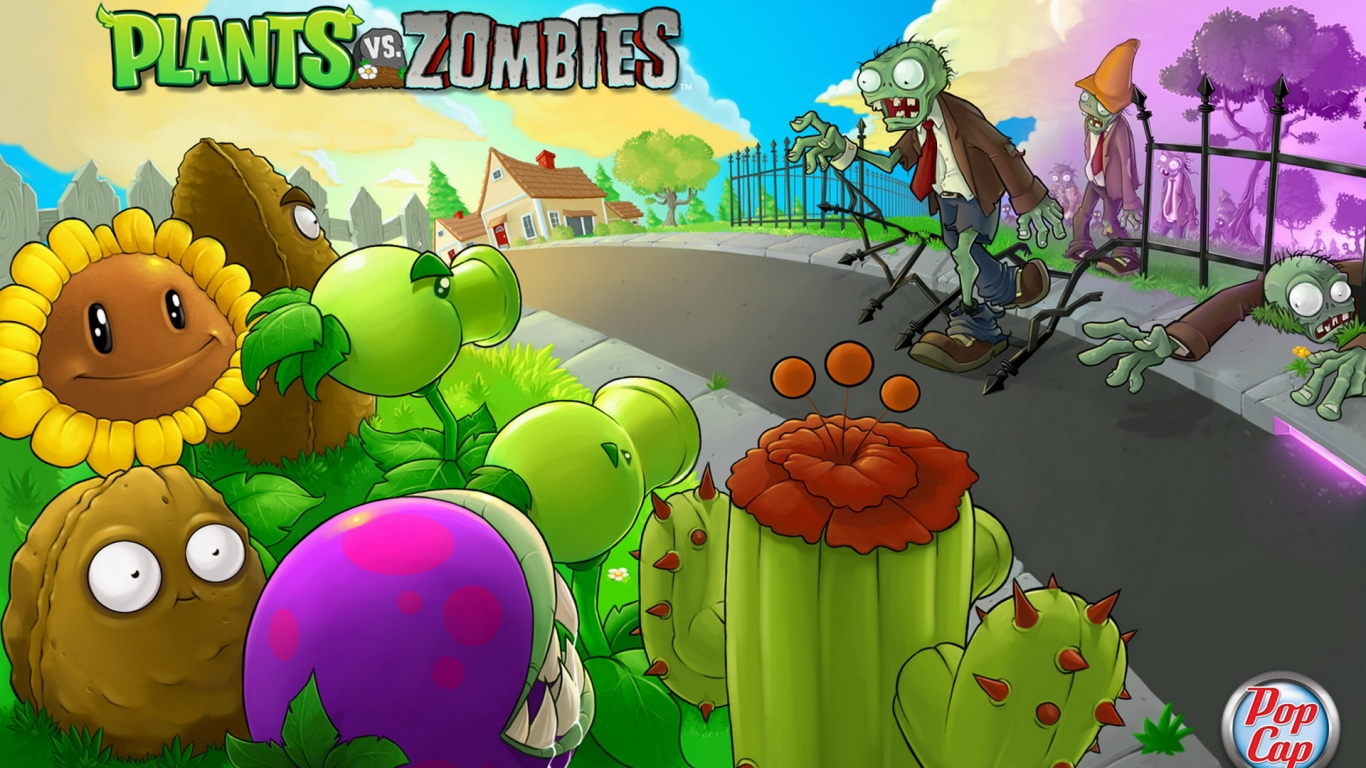 Plants vs. Zombies - 1366x768