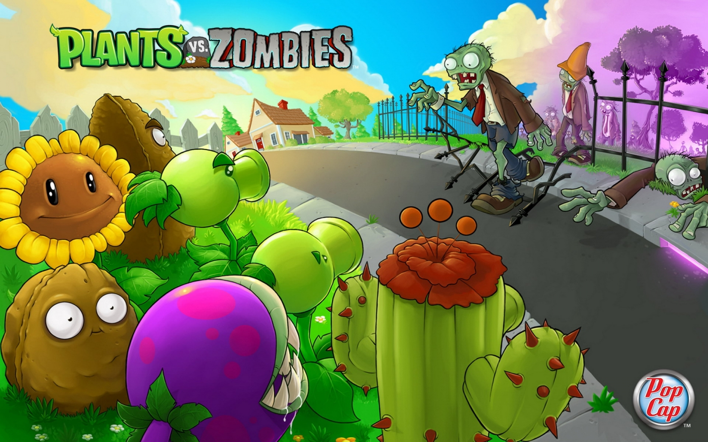 Plants vs. Zombies - 1440x900